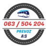 prevoz as logotip