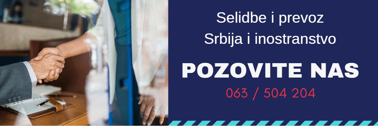 selidbe i prevoz srbija i inostranstvo