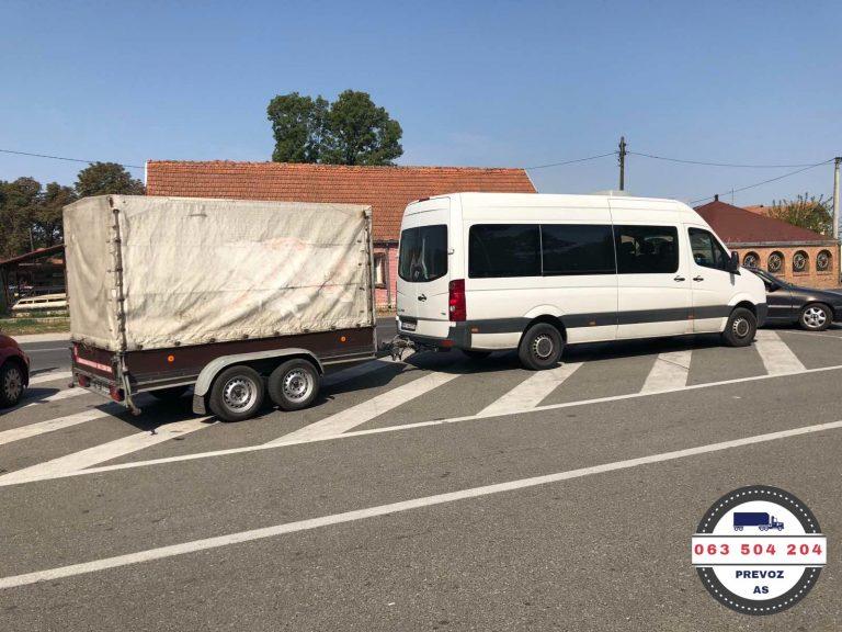 Kombi prevoz sa prikolicom